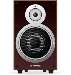Sub woofer speaker vector