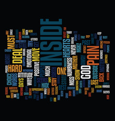 The inside is what counts text background word vector