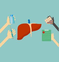 Treatment liver vector