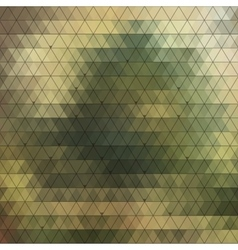 Abstract triangles background for design vector image