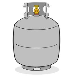Propane tank vector image