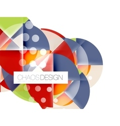 Circle abstract background vector image vector image