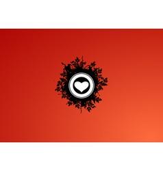 Valentine's wallpaper vector image