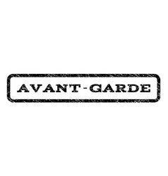 Avant-garde watermark stamp vector