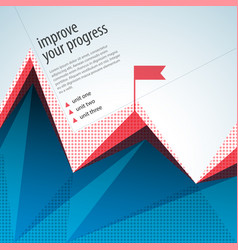 business abstract template vector image