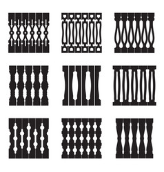 collection decorative patterns ethnic decor vector image