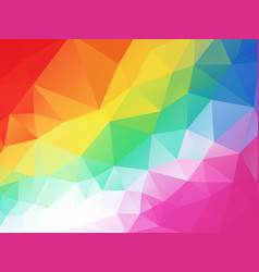 colorful funny children geometric background vector image