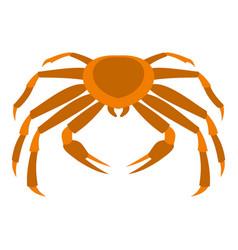 Crab sea animal icon isolated vector