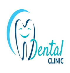 Dental icon vector image