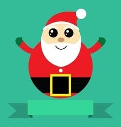 Holidays santa claus vector image