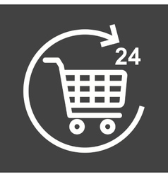 Hour Shopping vector