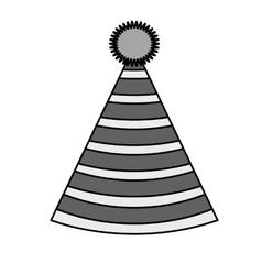 Isolatd hat of birthday design vector