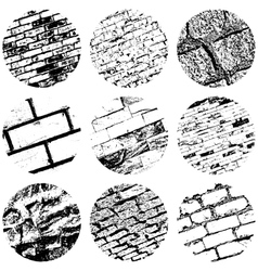 Brickwall overlay vector