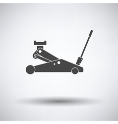 Hydraulic jack icon vector image vector image