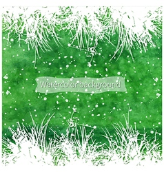 white grass vector image vector image