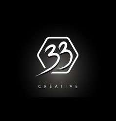 Bb b b brushed letter logo design with creative vector