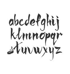 Handwritten ink marker vector