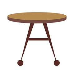 Icon table vector
