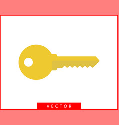 key icon keys symbol flat design vector image