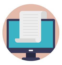 Online document vector