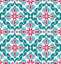 Pattern Classic Blue vector