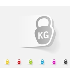 Realistic design element weight vector