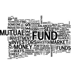 The inside scoop on mutual fund rip offs text vector