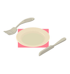 banquet icon isometric style vector image