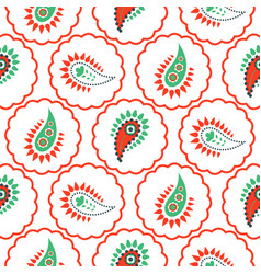 paisley pattern seamless vector image vector image