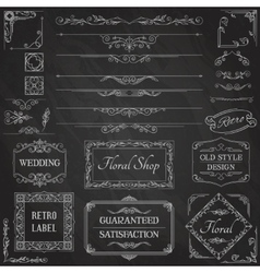 Vintage Calligraphic Design Elements2 vector image