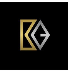 BQ letters logo vector image