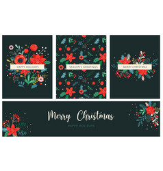 christmas backgrounds and new year abstract vector image