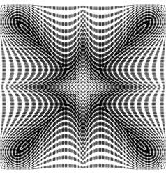 Design monochrome symmetric dots background vector