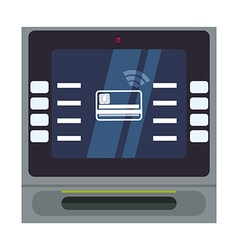 Digital payment design vector image