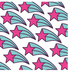 fantasy star pattern icon vector image