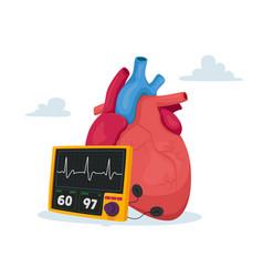 High cholesterol blood pressure vector
