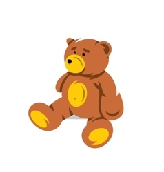 Teddy Bear Cartoon vector image