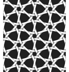 volumetric seamless pattern of hexagon lattice vector image
