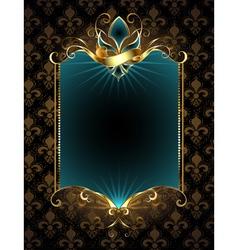 Design with Fleur De Lis vector image