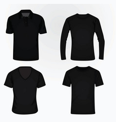 t shirt set vector image