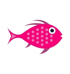Abstract aquarium fish underwater nature vector image