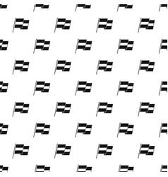 Egyptian flag pattern vector