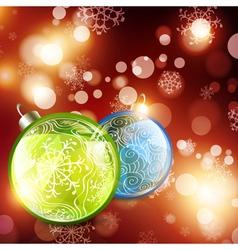 Abstract Christmas vector