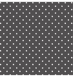 Abstract light grey background with polka vector image