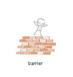 barrier vector image