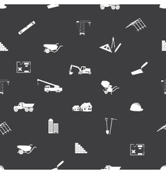 Construction icons seamless pattern eps10 vector