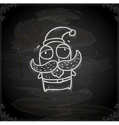 Hand Drawn Father Christmas vector