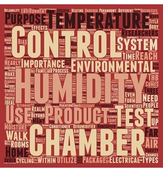 Humidity control text background wordcloud concept vector
