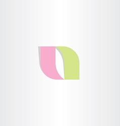 Logotype a logo letter a symbol icon vector