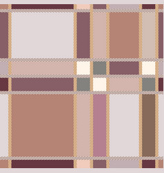 plaid fashion wallpaper seamless pattern vector image